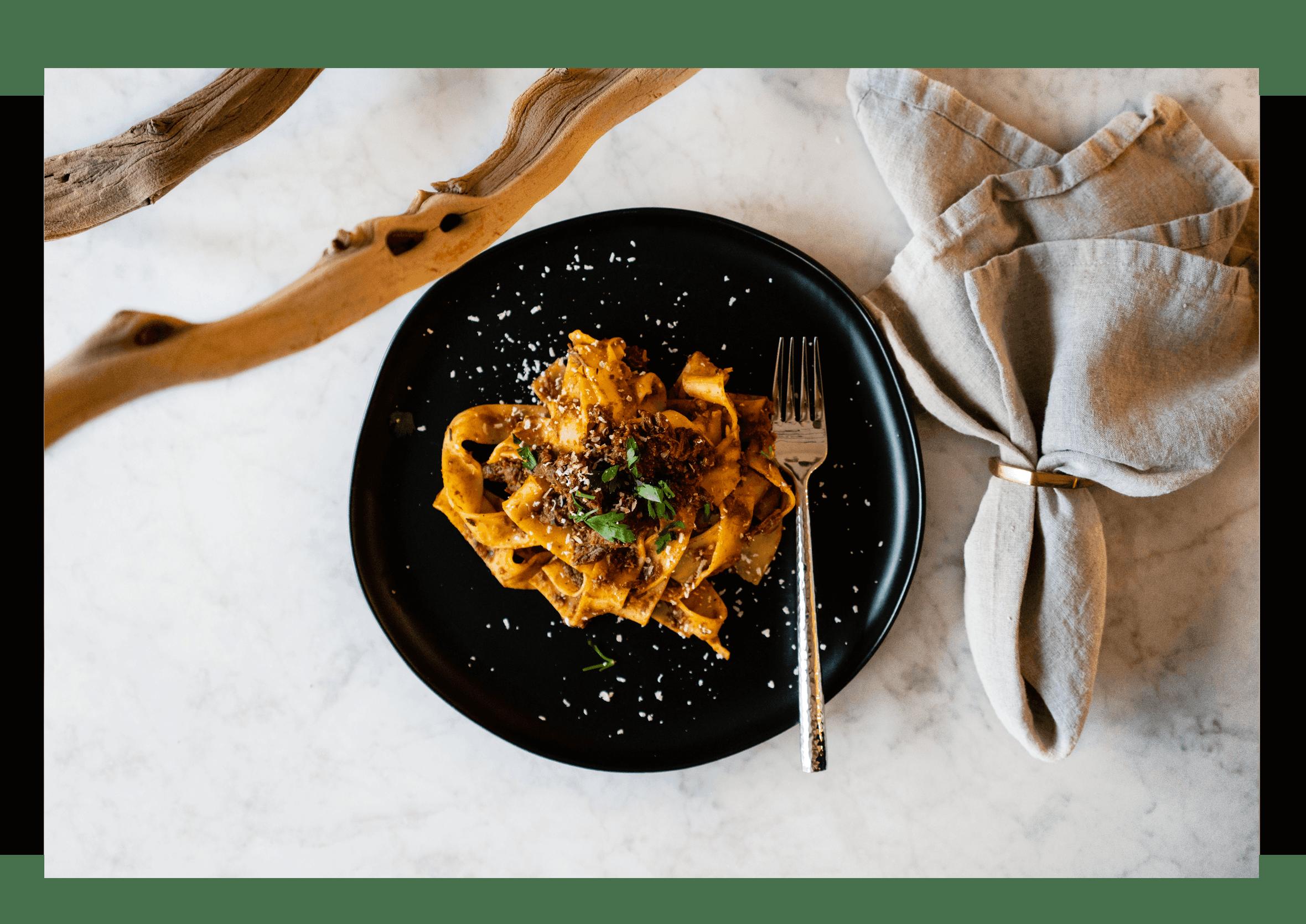 Food Journal: Braised Beef Ragu Parpedelle Recipe
