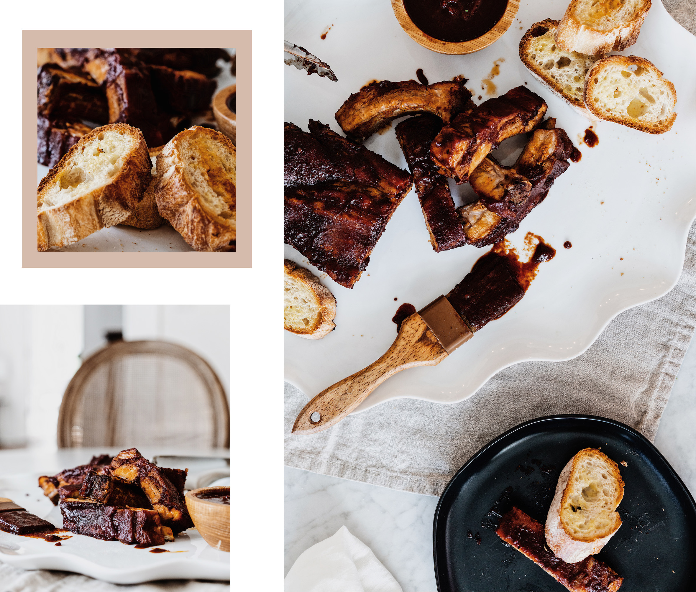 Endlessly Elated food journal bbq ribs recipe photos