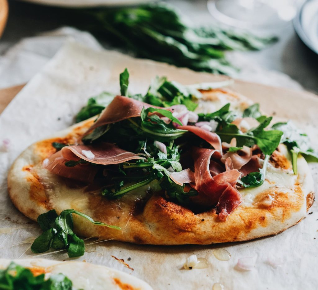 White Truffle Arugula Pizza