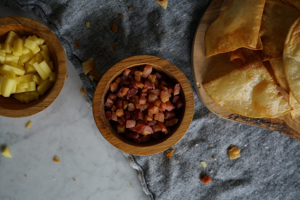 Pancetta & Mango Guacamole